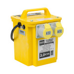 Image for Defender 3kVA Transformer 2x 16A Outlets 110V