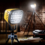 Image for Defender LED6000 Floodlight with Swing Leg Tripod