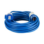 Image for Defender 25M Extension Lead - 16A 2.5mm Cable - Blue 240V