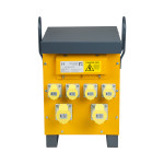 Image for Defender 10kVA Air Cooled Site Transformer 4x 16A & 2x 32A Outlets 110V