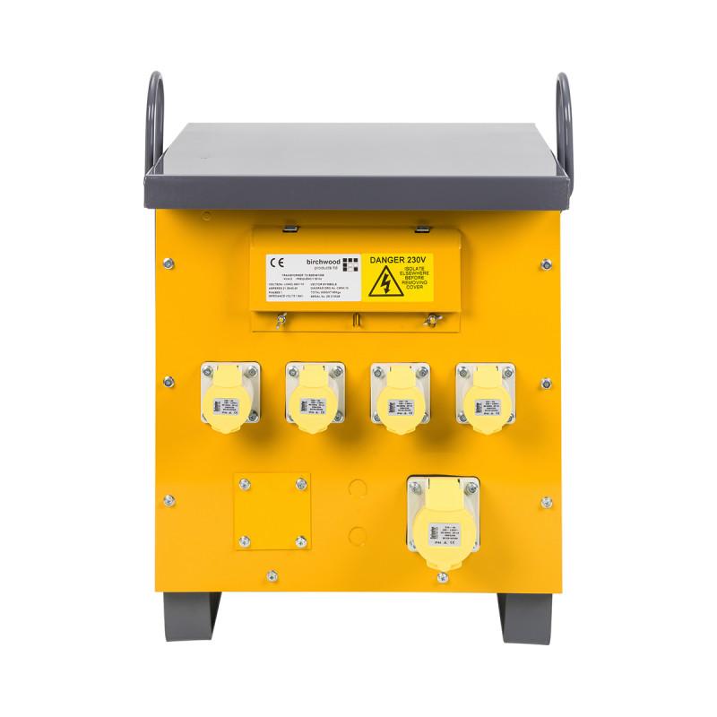 Image for Defender 5kVA Site Transformer 4x 16A & 1x 32A Outlets 110V
