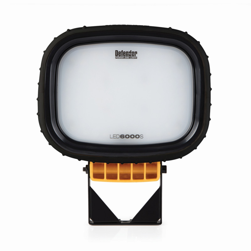 LED6000S Twin Head Floodlight - Wired Heads Only
