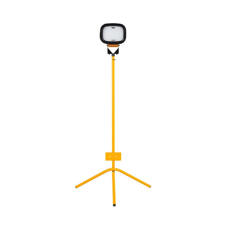 LED6000S Single Head Floodlight with Fixed Leg Tripod