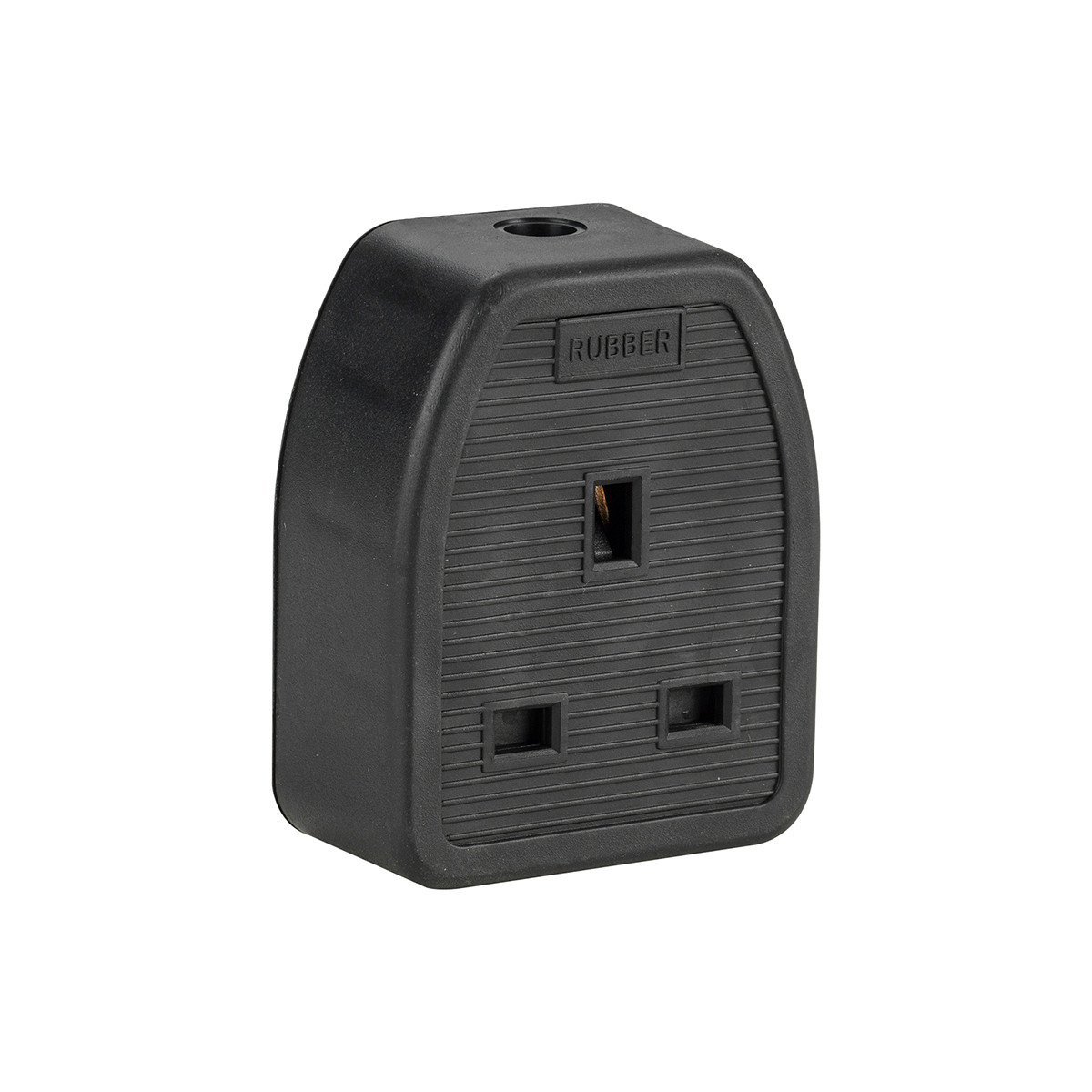13A 1 Gang Rubber Socket (Pack of 10)