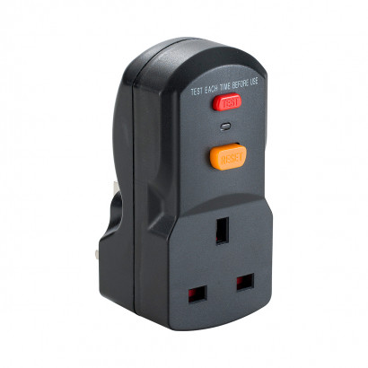 Image for Defender 13A RCD Plug & Socket Adaptor 230V