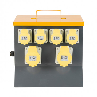 Image for Defender 6 Way MCB Protected Distribution Unit - 4x 16A & 2x 32A 110V