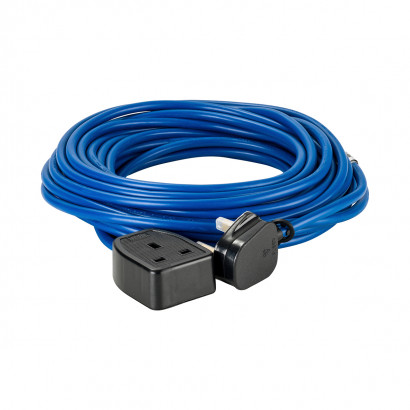 Image for Defender 14M Extension Lead - 13A 1.5mm Cable - Blue 240V