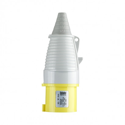 Image for Defender 32A Plug - Yellow - Display Packed 110V