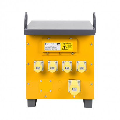 Image for Defender 5kVA Site Transformer 4x 16A & 1x 32A Outlets 110V